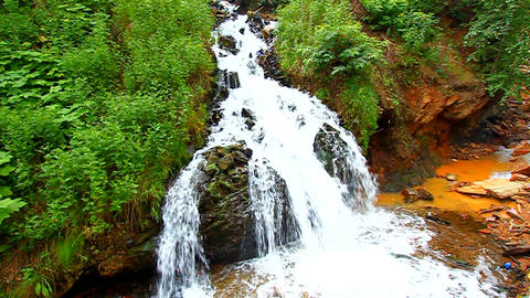 Cascades of Spearfish Canyon Footage