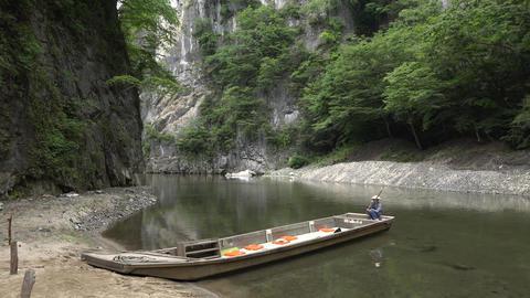 【4K】Geibikei, Iwate/Beautiful Valley/岩手県猊鼻渓 Footage