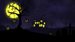 Halloween Background CG動画素材