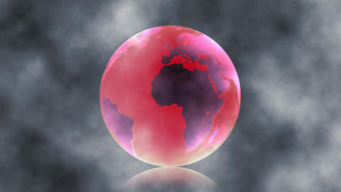 Global global warming Natural disasters Environmental destruction Animation