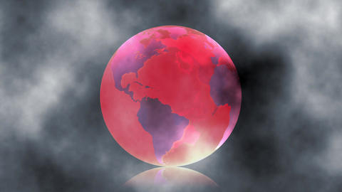 Global global warming Natural disasters Environmental... Stock Video Footage