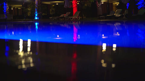 Pool At Night 1