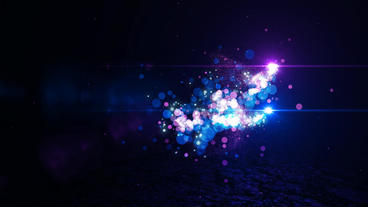 Elegant Particle Logo Plantilla de After Effects