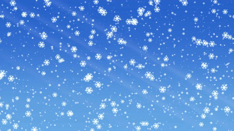 Snowfall animation 画像