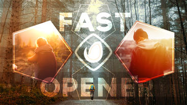 Fast Opener Dynamic Promo After Effects Template