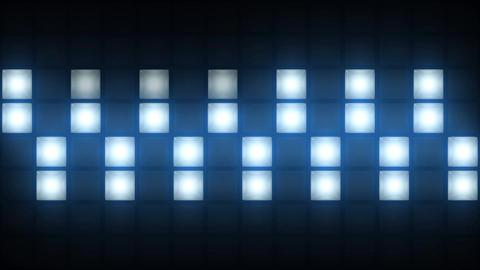 Strobe Lights Flashing Background Vj Loop Blue Lights... Stock Video Footage