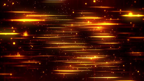 Epic Golden Glowing Particles Slide Abstract Fire Flames Soft Glow Bokeh Animación