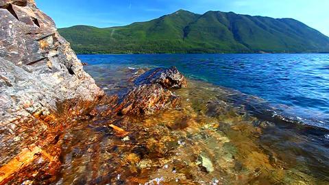 Rocky Point Glacier National Park Footage