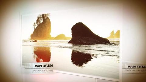 Photo Slideshow Plantilla de Apple Motion
