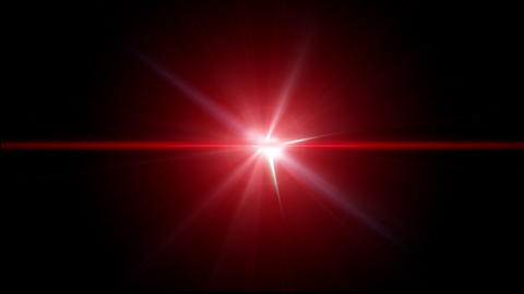 Lens Flare 09 stock footage