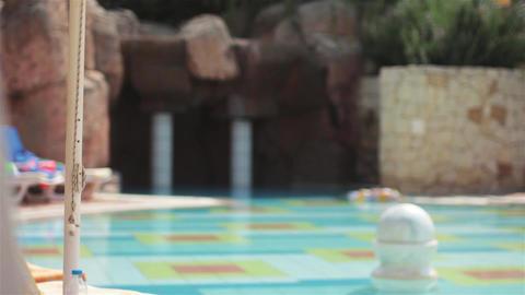 Resort Pool Stock Video Footage