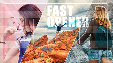 Fast Opener Dynamic Promo After Effects Templates