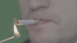 Cigarette (slow Motion )