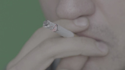 Smoking cigarettes (close up) Footage