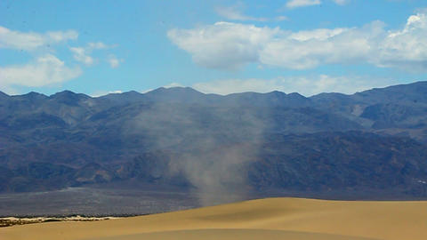 Dust Devil Death Valley Footage