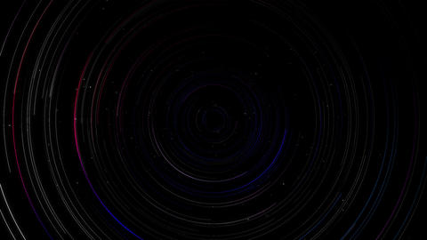 Stars time lapse 4K Animation