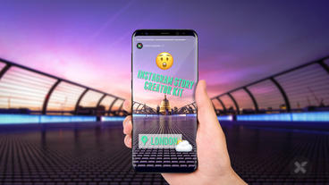 Instagram Story Creator Kit After Effects Template