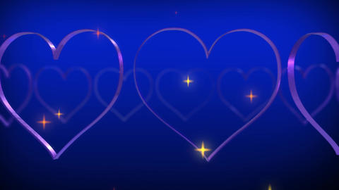 Wedding And Love - Over 50 Colorful Heart Animation Backgrounds