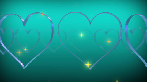 Wedding And Love - Over 50 Colorful Heart Animation Backgrounds 1
