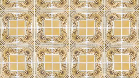 Seamless tile pattern Stock Video Footage