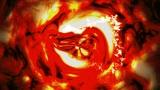 VJ LOOP ysissy_0002_120BPM_flameTriangle Animation