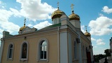 Golden domes of the orthodox church Footage
