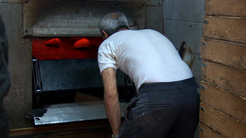 baking bread Stock Video Footage
