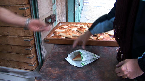 baking bread ビデオ
