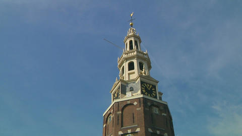Westertoren, Amsterdam Stock Video Footage