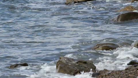 tidal bore Stock Video Footage