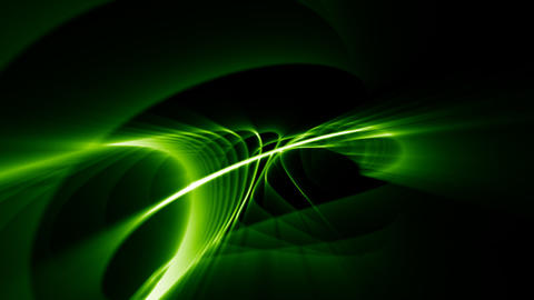 Looping Abstract Animated Background - Green CG動画
