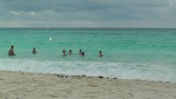 Cancun Beach Mexico 5 Footage