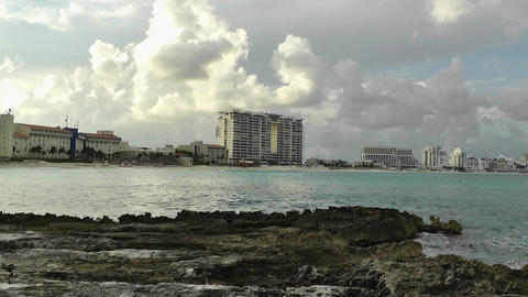 Cancun Beach Mexico 11 Stock Video Footage