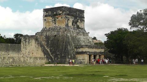 Chichen Itza Mexico Yucatan 08 handheld Stock Video Footage