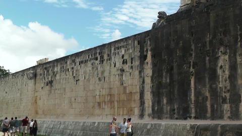 Chichen Itza Mexico Yucatan handheld 14 Footage