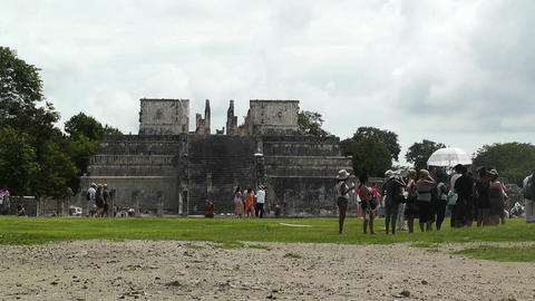 Chichen Itza Mexico Yucatan 18 Stock Video Footage