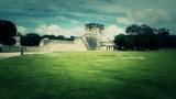 Chichen Itza Mexico Yucatan 30 handheld stylized Footage
