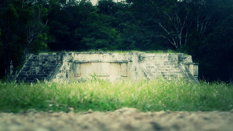 Chichen Itza Mexico Yucatan 36 stylized Stock Video Footage