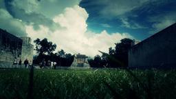 Chichen Itza Mexico Yucatan 44 stylized Stock Video Footage