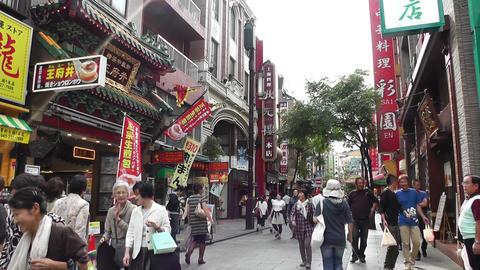 China Town in Yokohama Japan 04 Stock Video Footage