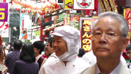 China Town in Yokohama Japan 10 Stock Video Footage