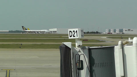 Dallas Forth Worth International Airport Texas USA Stock Video Footage