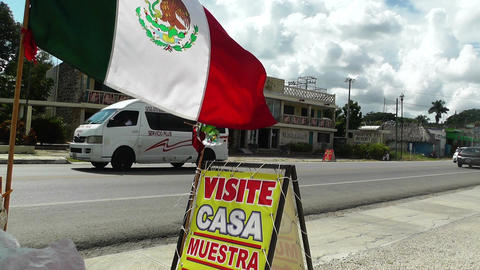 Mexico somewhere in the Yucatan 01 Stock Video Footage