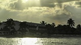Sunset over the Caribbean 02 Footage