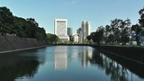 Tokyo City View from the Imperial Palace Japan 03 Footage