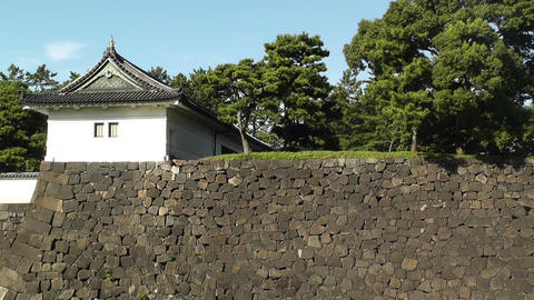Tokyo Imperial Palace 08 Stock Video Footage