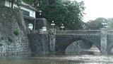 Tokyo Imperial Palace Japan Nijubashi Bridge 03 Footage