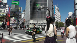 Tokyo Shibuya Japan 01 Stock Video Footage