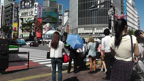 Tokyo Shibuya Japan 03 Stock Video Footage