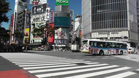Tokyo Shibuya Japan 09 Stock Video Footage